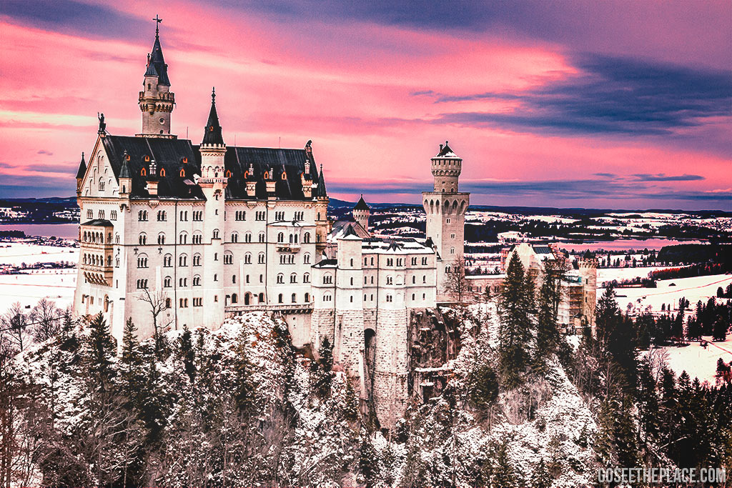 Neuschwanstein Castle tour is an example of narrowing down the location of your excursions.