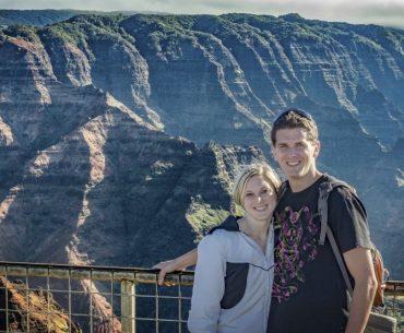 RJ and Megan Waimea Canyon