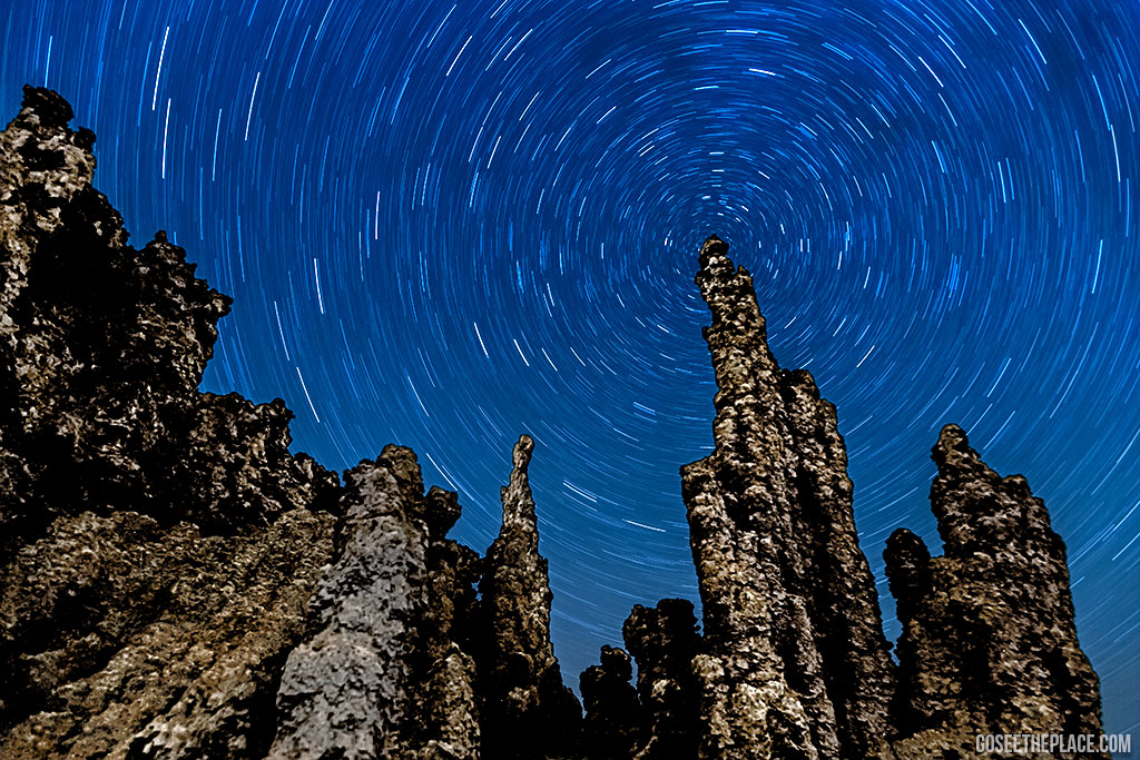 California Getaways - Mono Lake Tufa Towers at Night