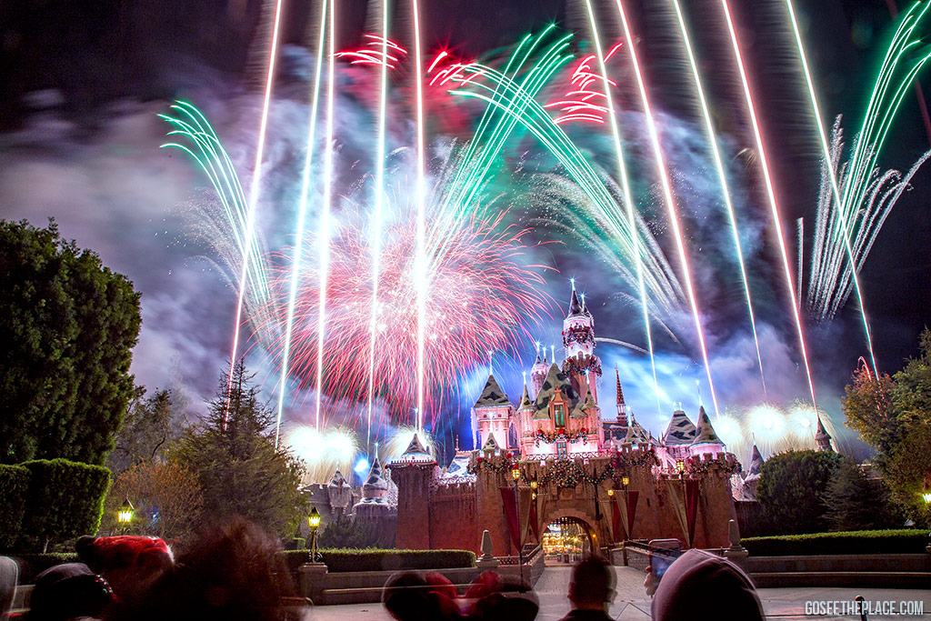 California Getaways - Disneyland Fireworks