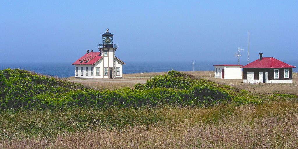 California Getaways - Mendocino Light House