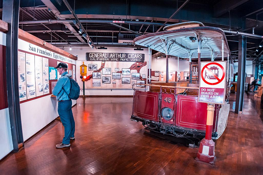 San Francisco Museum - Cable Car Museum