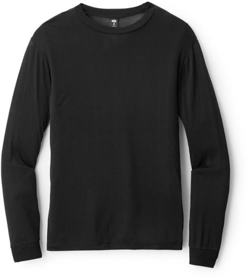 REI Silk Long-Sleeve Crew Shirt (Mens)