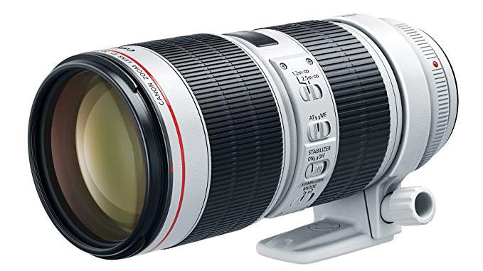 Canon 70-200mm telephoto