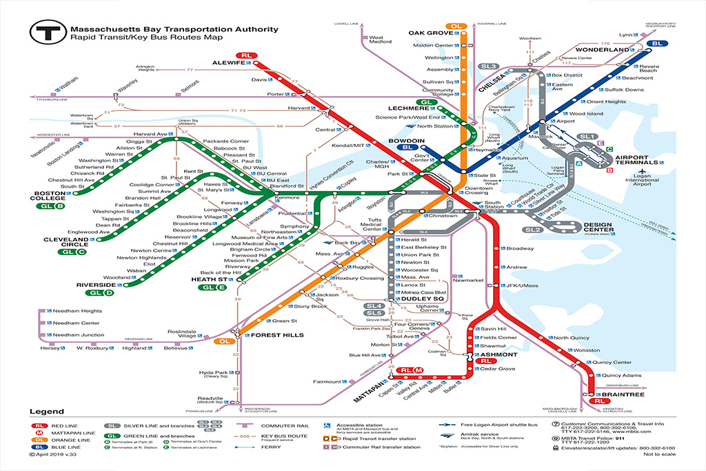 Reason 3 to love Boston - Reliable Metro System