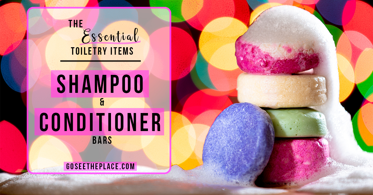 The Essential Toiletry Items: Shampoo and Conditioner Bars - Facebook Image