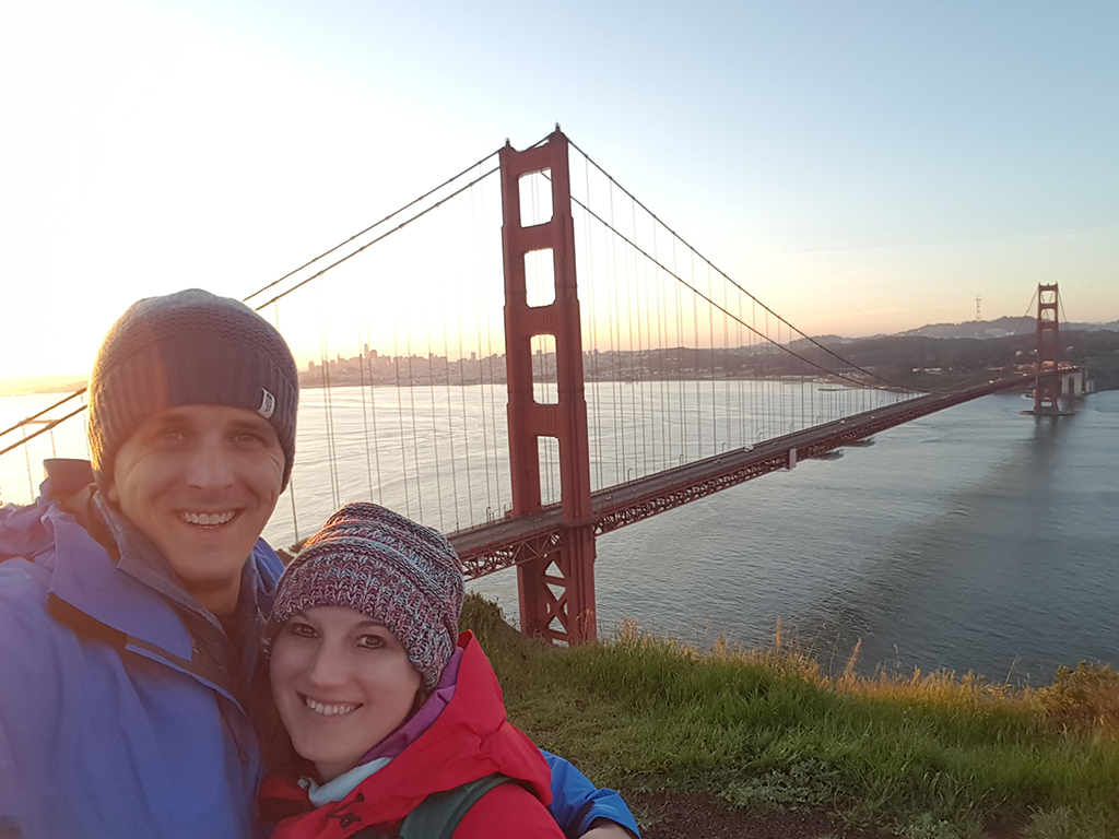 California Highway 1 - Golden Gate Bridge