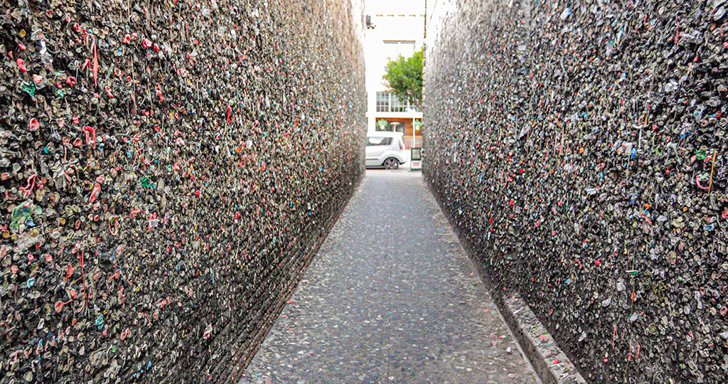 California Highway 1 - Bubblegum Alley