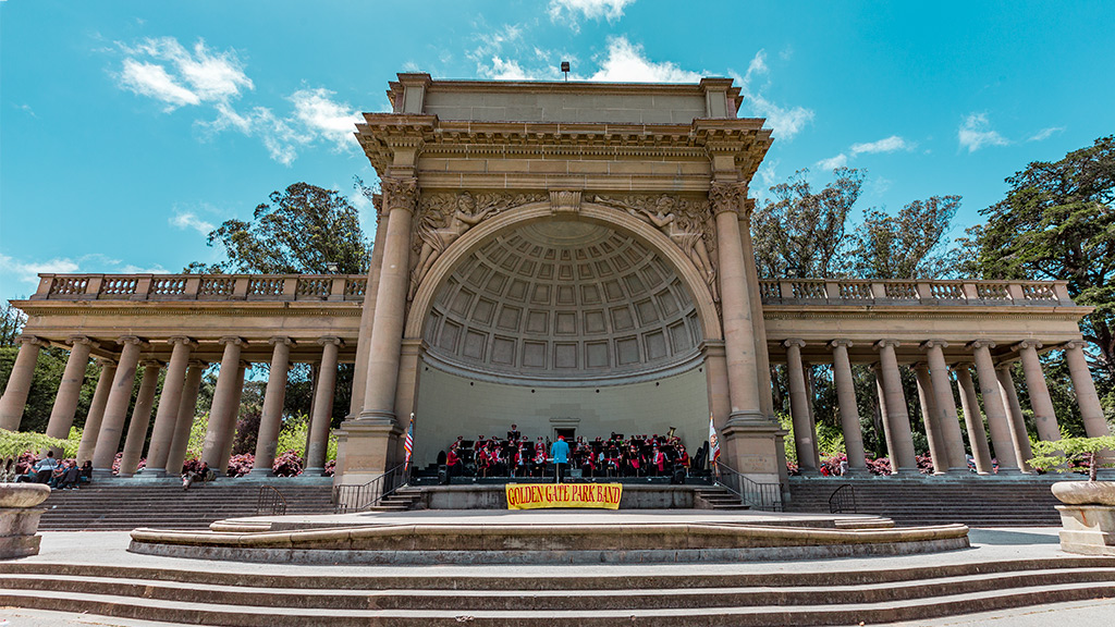 California Highway 1 - Golden Gate Park Music Concourse