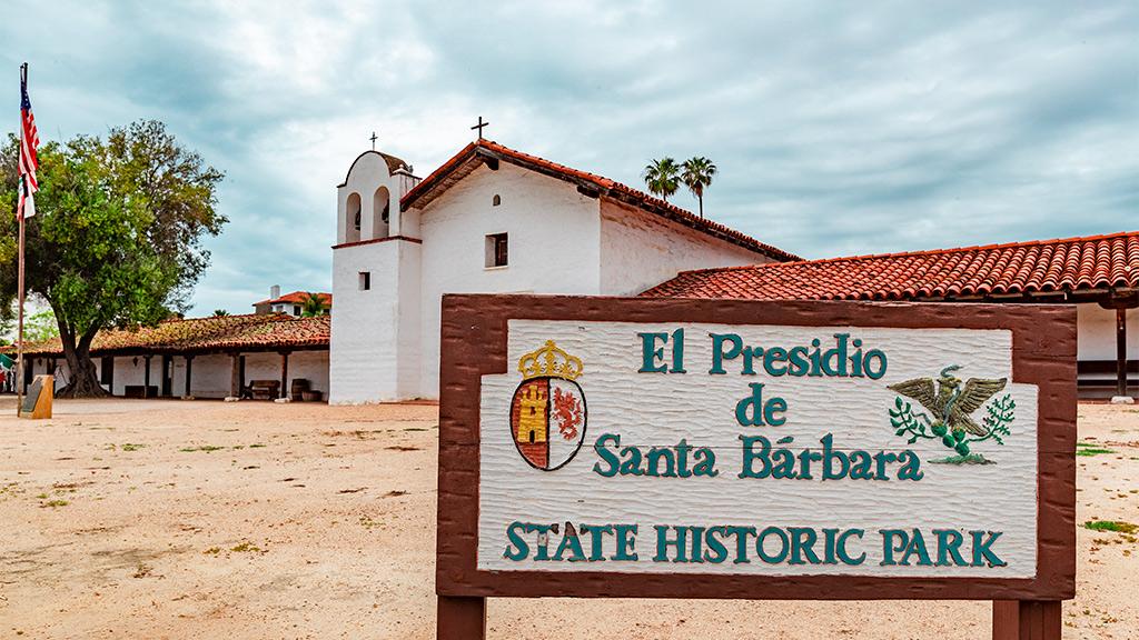 California Highway 1 - Santa Barbara Presidio
