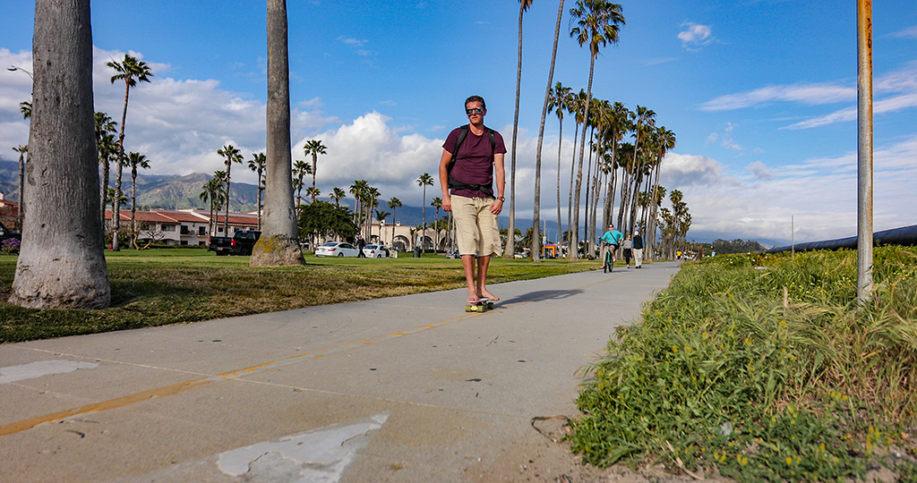 California Highway 1 - Santa Barbara Beach Path