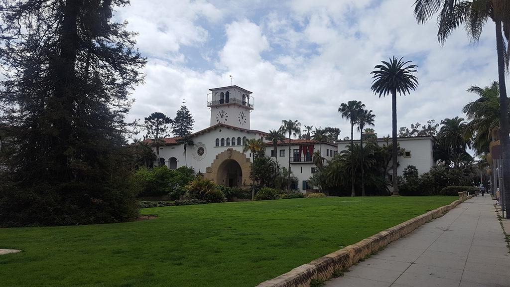 California Highway 1 - Santa Barbara Courthouse