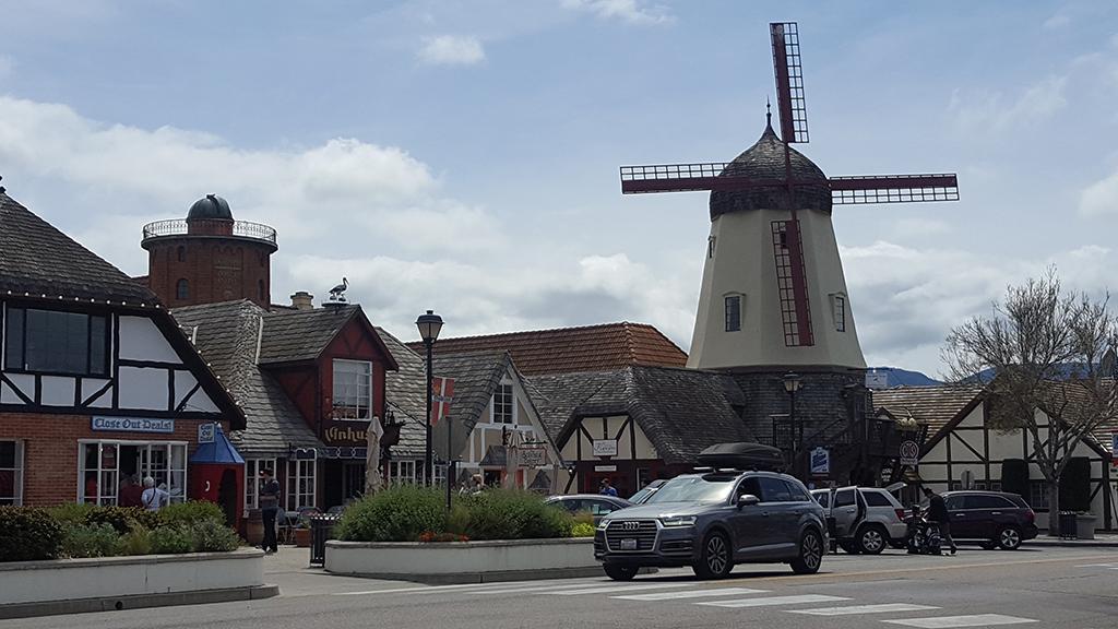 California Highway 1 - Solvang